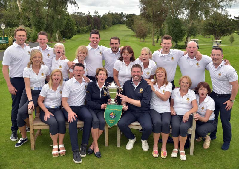 2019 Castle Mixed Foursomes Team1