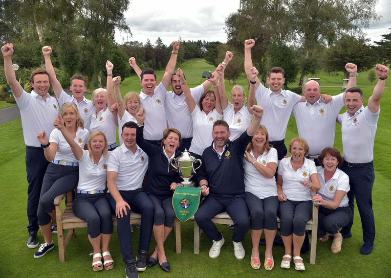 2019 Castle Mixed Foursomes Team
